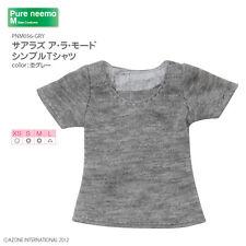 AZONE PureNeemo Sahra's a la mode Simple T-shirt Grey Blythe Momoko Doll Pullip