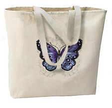 Gothic Butterfly New Large Canvas Tote Bags Shop Gifts Events Travel