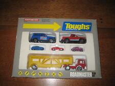 Vintage Tootsietoy Roadmaster car Play Set, 1990. Die-cast metal,original box
