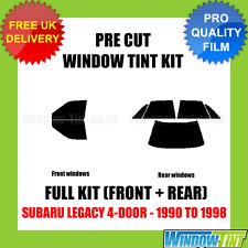 SUBARU LEGACY 4-DOOR 1990-1998 FULL PRE CUT WINDOW TINT KIT