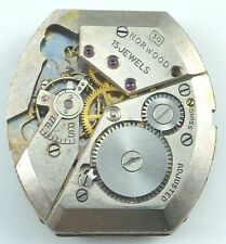 Norwood Wristwatch Movement - Caliber 30 - Sold 4 Spare Parts, Repair