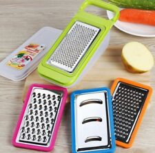 Home Kitchen 4 Piece Cheese Grater Set with Container - Zester Parmesan Cheese