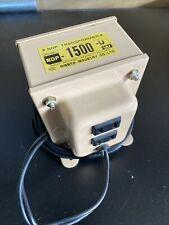 Nissyo Ndf-1500U Voltage Converter 110V-120V to 100V 1500W transformer. Used