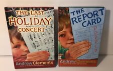 Andrew Clements Books Last Holiday Concert Report Card