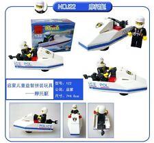 Enlighten Building Block Set Police boats Toys Educational Block toy