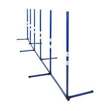 MiMu Agility Training Poles - Backyard Dog Agility Equipment Weaving Poles
