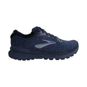 Mens Brooks Adrenaline GTS 20 Black Ebony Cushioned Running Shoes