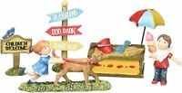 Miniature Fairy Garden Kids Playground Figurine Gift Craft Boxed Set