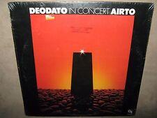 DEODATO In Concert AIRTO John Tropea Flora Purim RARE SEALED LP 1974 CTI 6041