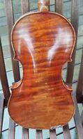 violon ancien - G. APPARUT Rampal Cert- old violin - viola cello geige