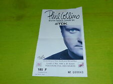 PHIL COLLINS - BOTH SIDE TOUR 94!  RARE FRENCH TICKET STUB !!TICKET CONCERT!!!!!