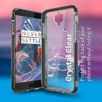 OnePlus 3 / OnePlus 3T Fusion Bumper Case Cover by ORZLY - BLACK & CLEAR