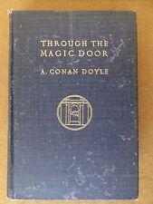 THROUGH THE MAGIC DOOR by A. Conan Doyle (RARE 1st U.S. edition - 1908)
