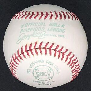 Vintage 1970-72 Reach Cronin Official American League Baseball AL Ball w/ BOX!!