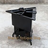 Iron wood Coal Tri burning Kitchen use stove Sigri Fire pit Portable India