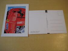 Postkarte Ferrari Card Hyper Alain Mathat GAM 14