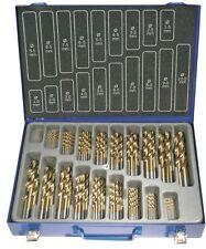 BGS Metall Bohrer Satz HSS 1-10 mm 0,5 steigend Titan nitriert 170-tlg Eisen Set