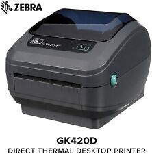 Zebra GK420d Thermal Label Printer + 3000 labels