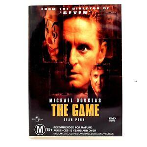 The Game (DVD, Region 4, 1997)