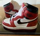 MICHAEL JORDAN Rookie 1985 signed AIR JORDAN 1 sneakers (Upper Deck COA)