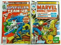 MARVEL SUPER VILLAIN TEAM-UP #7 FN/VF + DOUBLE FEATURE #17 VG/FN LOT Ships FREE!