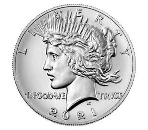 {Pre-Sale}Peace 2021 Silver Dollar