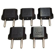 5PC USA/Australia to Europe AC Power Plug Adapter Travel Converter US/AU to EU