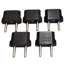 5PC USA/Australia to Europe AC Power Plug Adapter Travel Converter US/AU to EU