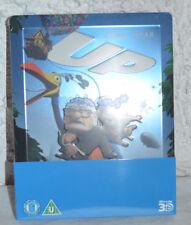 NEW Disney Pixar's UP 3D Reg Free 2D Reg B Blu-Ray Steelbook Zavvi Exclusive