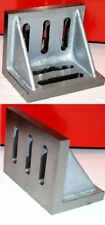 """SCT 4 1/2 """" Angle Plate Webbed End For Milling Machine Lathe etc From Chronos"""