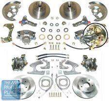 1964-72 Oldsmobile Cutlass 4 Wheel Standard Disc Brake Kit