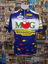 maglia ciclismo bike shirt maillot trikot camiseta MG TECHNOGYM  D464 TG 6