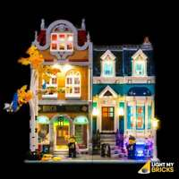 LIGHT MY BRICKS - LED Light kit for LEGO Bookshop 10270 LEGO Light Kit