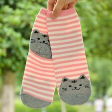 Women Casual Cotton Sock Cute Cats Pattern High Quality Korean Style Knit Socks