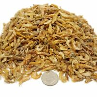 "Red Shrimp--Freeze Dried  3/8"" to 1/2""  for Small & Medium Fish, Koi, Turtles"