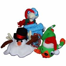Holiday Meanies Set of 3 Slushy the Snowman, Splat in the Hat, Cold Turkey