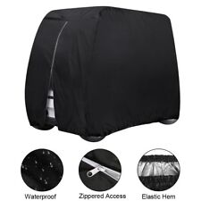Waterproof Golf Cart Cover 4 Passenger Dustproof Storage for EZ Go Club Yamaha