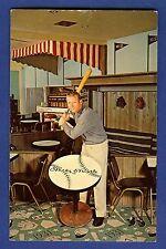 1962 Mickey Mantle Holiday Inn of Joplin Missouri Postcard Unused