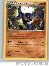 2016 pokemon Steam Siege rare Toxicroak 59/114