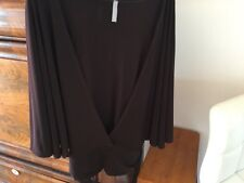 LAST TANGO Top Amazing Design Large Opening In The Front Small New Chocolate