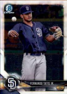 2018 Bowman Chrome Prospects #BCP114 FERNANDO TATIS JR.  San Diego Padres