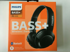 Philips SHB3075 Extra BASS+ Bluetooth Wireless Headphones - Matte Black