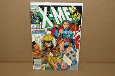X-Men Comic Book Issue #6 March 1992 Newstand New