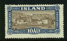 Iceland  Scott #145 Facit #169 Mint  Cats $52.50