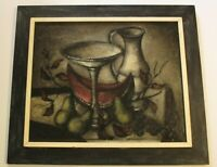 ROLAND GAUDILLIERE MID CENTURY MODERN PAINTING STILL LIFE ABSTRACT EXPRESSIONISM
