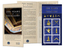 300 Years of Freemasonry Sheetlet Stamp (VH64)