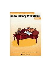 Hal Leonard Student Piano Library Theory Workbook Learn to Play MUSIC BOOK 3