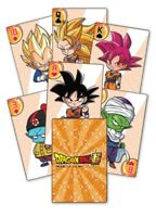 Dragon Ball Super Dbs Playing Cards Poker Dragonball Anime Manga Licensed New