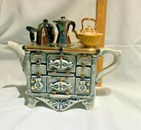 The French Stove   made by Teapottery / Swineside  bnib