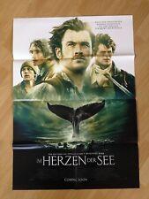 Filmposter * Kinoplakat * A1 * Im Herzen der See * 2015 * Regie: Ron Howard